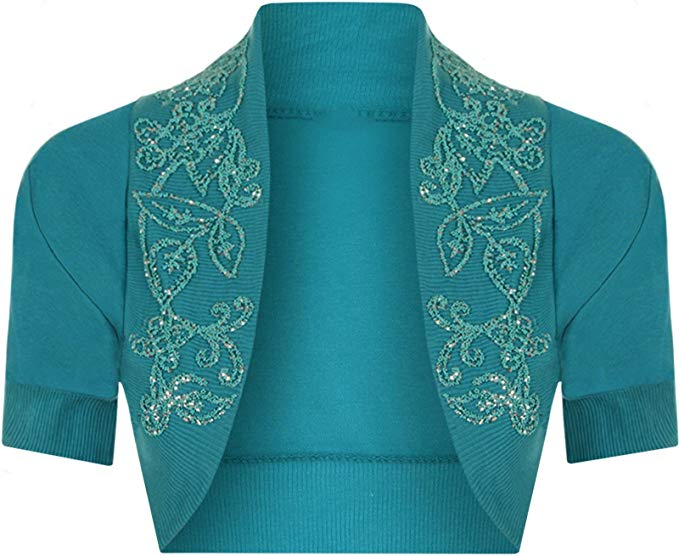 B&S - Shrug Teal