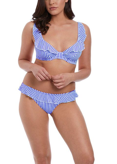 Freya - Totally Stripe Bardot Bikini